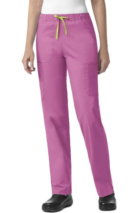 Clearance Signature Collection by Vera Bradley Women's Florence Drawstring Cargo Scrub Pant