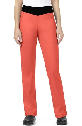 Clearance Signature Collection by Vera Bradley Women's Jane Knit Waistband Classic Scrub Pant