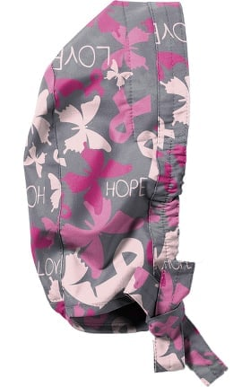 Zoe and Chloe Women's Hope Floats Print Scrub Cap