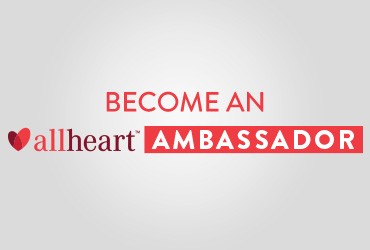 Become allheart ambassador