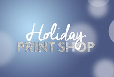 Holiday Print Shop