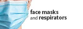 face masks and respirators